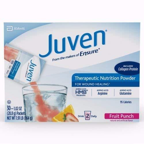 Medline Juven Powder Nutritional Supplement (Fruit Punch, Packaging : 30EachCarton) by Abbott Nutrition