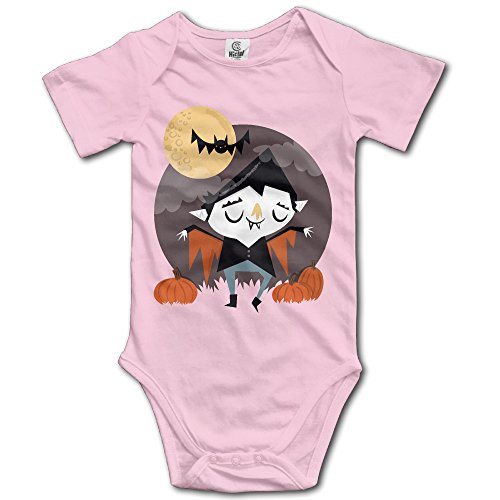 SUPERMORE Baby's Halloween Hanging Bodysuit Romper Playsuit Outfits Clothes Climbing Clothes Short Sleeve]()