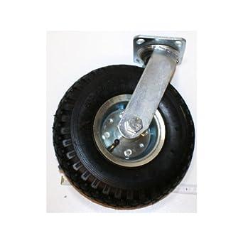 Rueda giratoria/Rueda con goma, luftgefüllt, 260 mm, Capacidad de Carga 100 kg: Amazon.es: Industria, empresas y ciencia