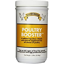 Rooster Booster Poultry Booster, 1.25-Pound
