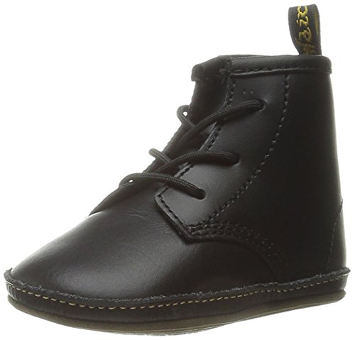 (Dr. Martens Kid's Collection Baby Auburn Lace Bootie (Infant/Toddler), Black Kids Lamper 0 UK (0-3 Months))