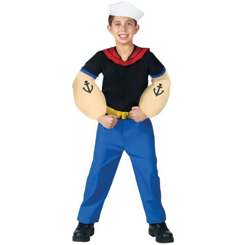 [Popeye Costume - Small] (Girl Popeye Costume)