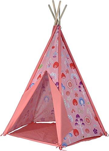 Geist der Luft scherzt Königreich Teepee Spiel Zelt - Rosa (Versand aus UK)