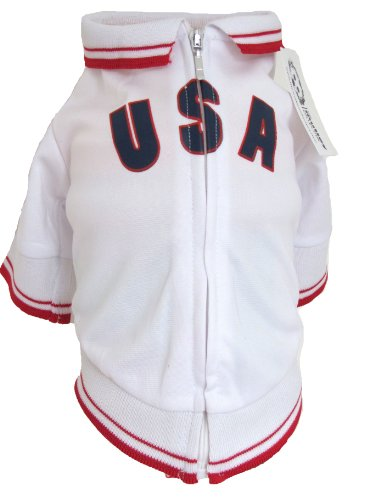 The Mutley Collection USA Olympic Soccer Warm-Up Track Ja...