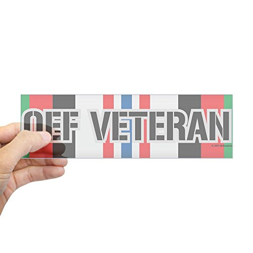 CafePress Veteran Ribbon Sticker Rectangle