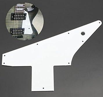 Golpeador de 3 capas color blanco 76 reedición estilo para Gibson ...