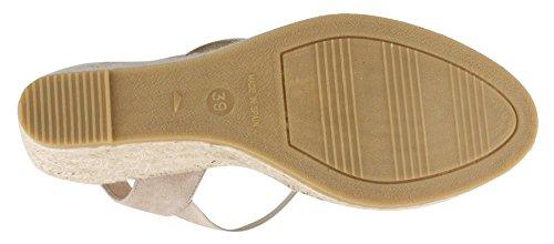 Cuna Basic Sandalias Zapatos Mujer Taupe Kanna De RvqwRz