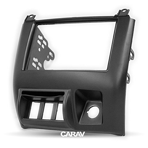 Carav 11-726 Car Stereo Radio installation frame Double Din in Dash Facia Fascia Kit for CHANA Star 2011-2013 with 17398mm/178100mm/178102mm by CARAV