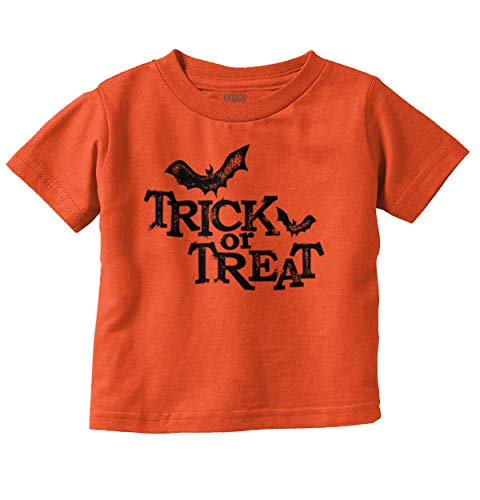 (Brisco Brands Trick Or Treat Funny Bats Halloween Scary Infant Toddler T)