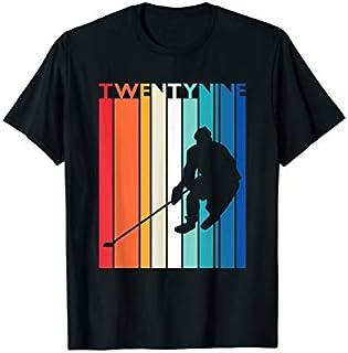 29th Birthday Gift Vintage Hockey  29 Year Old Birthday T-shirt   Size S - 5XL