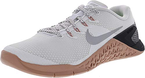 4 Femme Metallic Silve Metcon WMNS Running 100 White Chaussures Multicolore de Compétition NIKE 1PvqxEwx