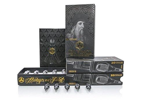 Bishop DA VINCI Premium Tattoo Cartridge Needles Box of 20 Pc (1209RLT)