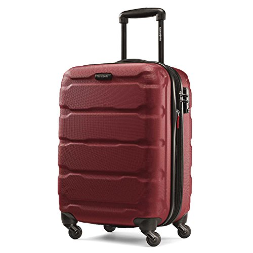 Samsonite Omni PC 20'' Expandable Spinner (Red) by Samsonite
