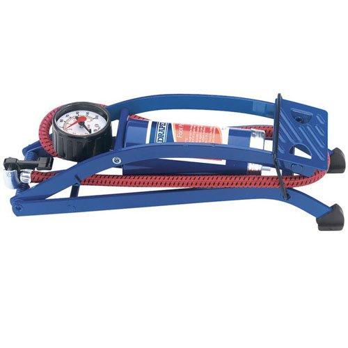Draper 14172Bomba de pie con indicador de presión