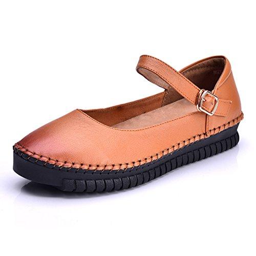 Zapatos de las señoras/Casuales zapatos planos/Zapatos de la MAMÁ de la mano B
