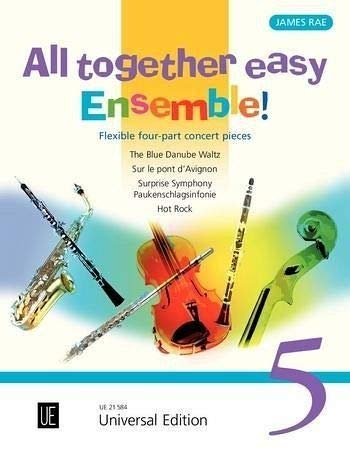 All Together Easy Ensemble!: No 5: For Flexible Ensemble / Piano Ad Lib.