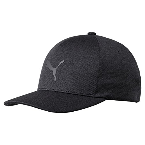 PUMA Golf 2017 Men's Evoknit Hat, Black, Small/Medium Puma Black Hat