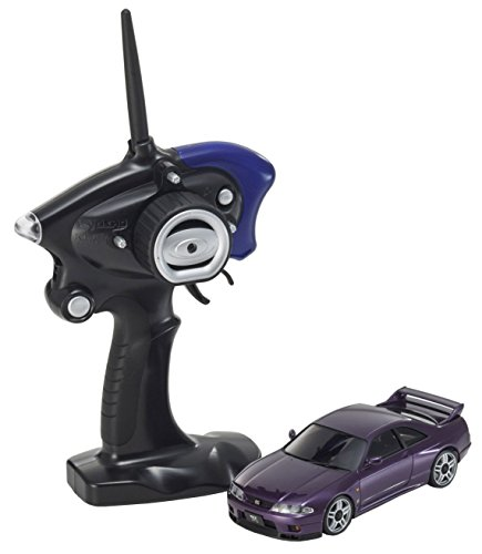 Kyosho Mini-Z MA020S AWD Mini RC Nissan Skyline R33 GT-R 1:27-Scale - Midnight Purple
