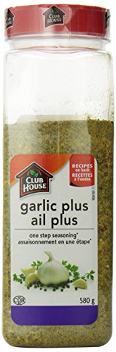 - Club House Garlic Plus Seasoning One Step, 580 Gram
