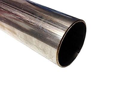 Tubo de acero inoxidable T304 de 1000 mm x 25 mm de sección ...