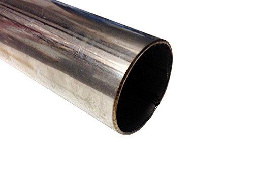 1000 mm x 63 mm (100, 1 x 6, 3 cm) sezione Wall (1.5 mm) in acciaio INOX T304 tubo/tubo 1x 6 3cm) sezione Wall (1.5mm) in acciaio INOX T304tubo/tubo Exhaust Parts UK