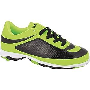 Vizari Men's Infinity TF Soccer Shoe, Green/Black, 8.5 M US