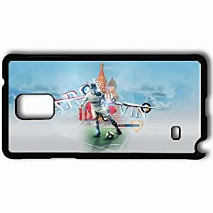 Personalized Samsung Note 4 Cell phone Case/Cover Skin Andrei Arshavin Russia Football Russian Football Andrei Arshavin Football Black
