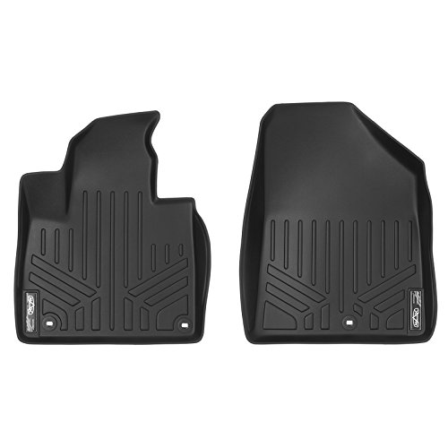 MAX LINER A0191 Custom Fit Floor Mats 1st Row Liner Set Black for 2016-2019 Kia Sorento - All Models