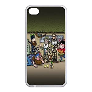Customize Duck Dynasty Back Case for Apple iphone 4,4S JN4S-1586