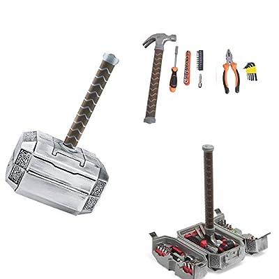 Langjitianya Thor Hammer Tool Set?Household Hand Tool Kit with Thor Hammer case