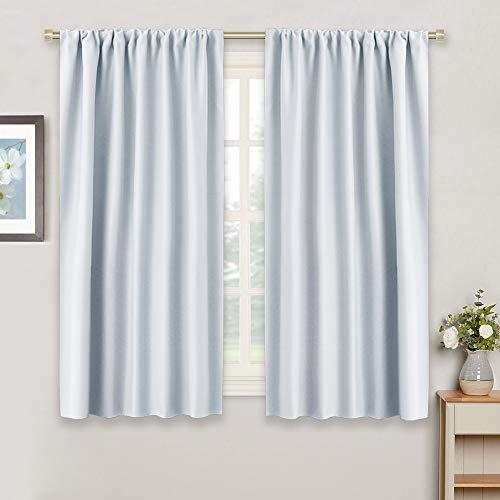 RYB HOME Window Treatments Curtains Room Darkening Home D