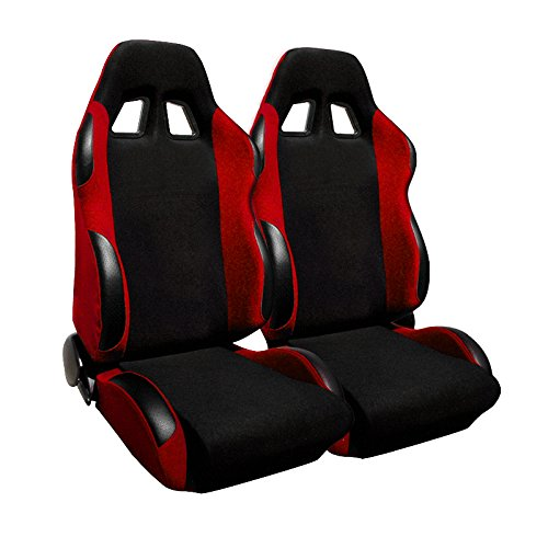 Spec-D Tuning RS-505-2 Racing Seat (Honda Accord Racing Seats compare prices)