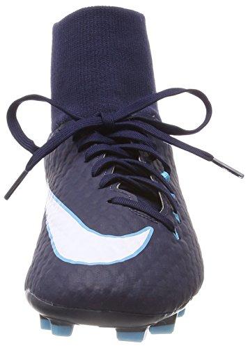 bleu Hypervenom Df Homme De bleu Chaussures obsidienne Phelon Nike Glacier Bleu Football Fg Gamma 3 blanc BAwFqP