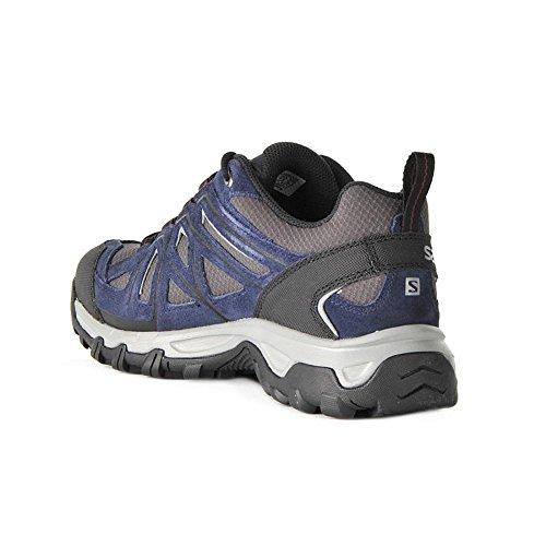 Salomon Shoes Evasion 2 GTX - Pointures UK homme : 8.5, Couleurs : Magnet/Navy Blaze/R