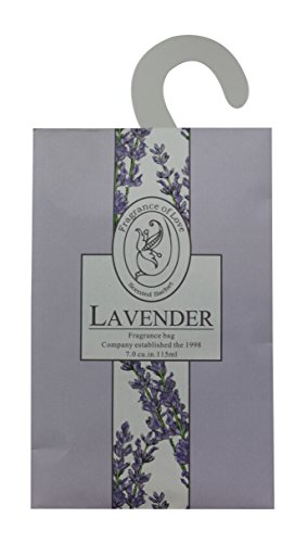 (Feel Fragrance Scented Hanging Sachet for Closets,Pack of 3 (Lavender))