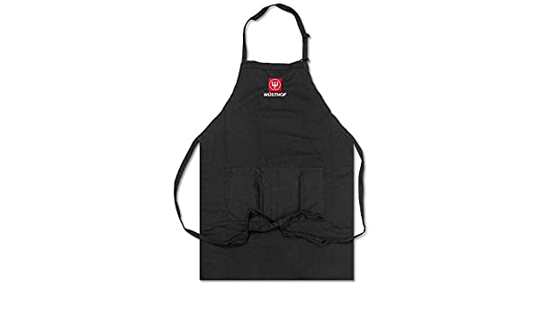 Amazon.com  Wusthof Black Cooks Apron With Logo  Home   Kitchen 907b707cbc8