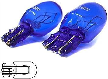 1 caja T20 W21//5W 12V//21//5W CLEAR 10 bombillas hal/ógenas