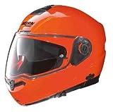 Nolan N104 Evo Hi-Visibility Helmet (Hi-Vis Orange, XX-Large)