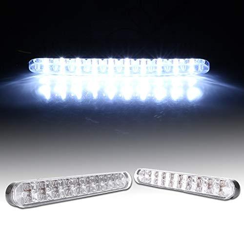 [해외]GZYF LED White Daytime Running Light 12V 30W for Car Truck SUV Trailers / GZYF LED White Daytime Running Light 12V 30W for Car Truck SUV Trailers