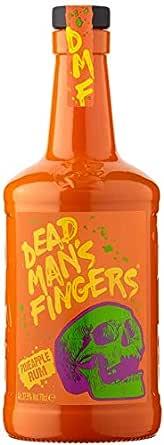 Ron Dead Mans Finger Pineapple Rum 37,5% 70 cl: Amazon.es ...