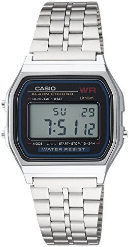 Casio A159W-N1DF Classic Digital Bracelet Watch
