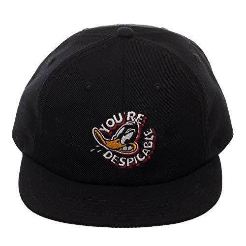 Looney Tunes Daffy Duck Black Ballcap Baseball Hat Cap Adjustable Licensed ()