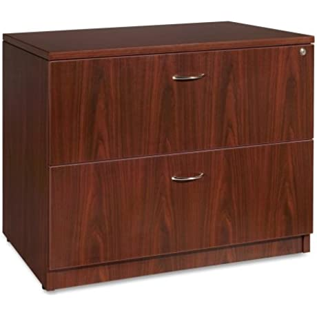 Lorell Lateral File 35 By 22 By 29 1 2 Inch Mahogany