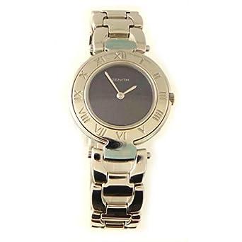 Uhr Zenith Damen fiy4020465296 Quarz (Batterie) Stahl Quandrante blau Armband Stahl