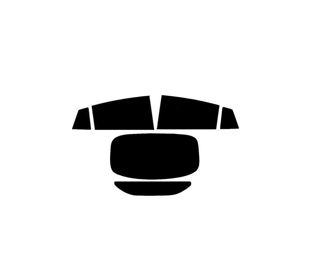 PSSC Pre Cut Rear Car Window 5/% Tint Films for Hyundai loniq 2017