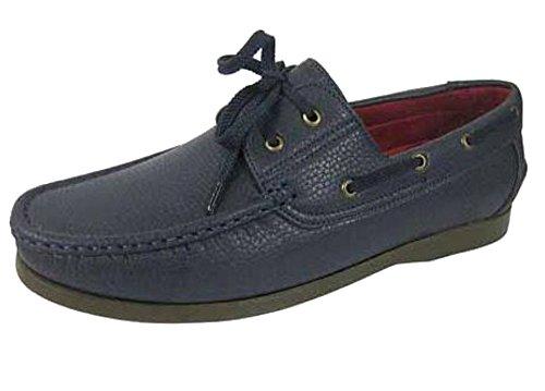 Lacets de chaussures-Bateau - Bleu - Bleu marine, 42