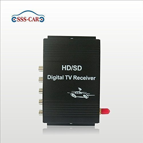 Car ATSC MPEG 4 digital TV tuner america TV receiver box by Car DVD (Image #6)
