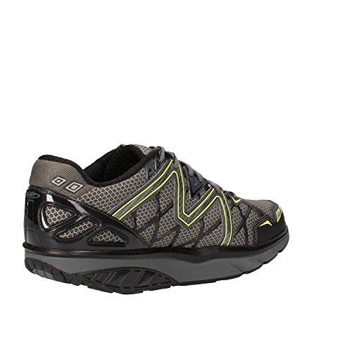 MBT Sneakers Uomo 42 EU Grigio Nero Tessuto