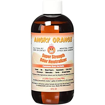 Amazon Com Angry Orange Pet Odor Eliminator Dog And
