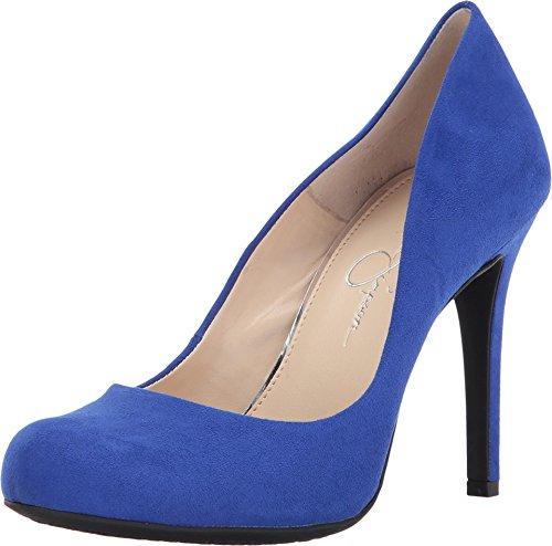 Jessica Simpson Calie Blue Violet Microsuede 5.5
